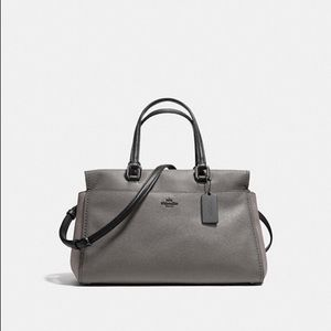 Coach colorblock mixed leather Fulton bag, nwt